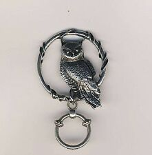 Encircled Owl Magnetic Badge Eyeglass Holder, Magnetic  Pin Brooch