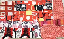 vintage 1950s/60s fabric pieces Marian Mahler Lucienne Day patchwork & crafts