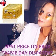 Gold Eye Mask Patches Collagen Crystal Gel Powder Bio Pad Face Anti Aging