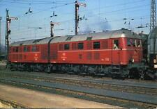 DB Krupp diesel electric twin locomotive 288 002-9 Bamberg Germany 1969 postcard