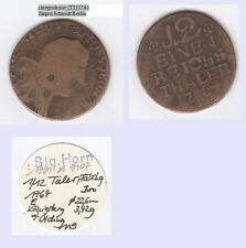 ZEITGENÖSSISCH NACHGEAHMT 1/12 Taler 1764 E Königsberg Preussen Fr. II.