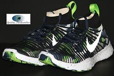 NIKE FREE TRAIN FORCE FLYKNIT AMP DANGERUSS WILSON SEAHAWKS 840299 400 Sz 9.5
