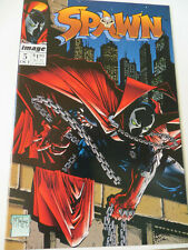 SPAWN #5 - SPAWNMOBILE POSTER INTACT ! -1992 - IMAGE COMICS