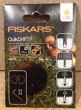 FISKARS 134717 QuikDrill D10 Handerdbohrer Erweiterung 100 mm Bodenbearbeitung
