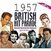 The 1957 British Hit Parade Part 1, Various Artists, Audio CD, New, FREE & FAST