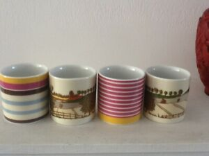 JOULES  FOUR CHINA EGG CUP