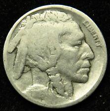 1916 Buffalo Indian Head Nickel AG About Good (B03)