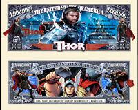 THOR BILLET 1 MILLION DOLLAR US ! Collection Super Heros Avengers BD Marvel film