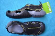 BLACK Crocs Comfort Design. Men's Swiftwater Sandal. Size M9. NEW rrp$79.99