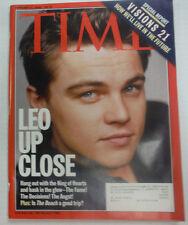 Time Magazine Leonardo DiCaprio & Visions 21 February 2000 WITH ML 042015R