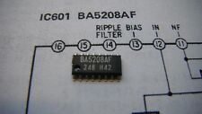 NEW BA5208AF SONY ICF-SW1 AUDIO AMPLIFIER IC With SERVICE Manual 8-759-910-71