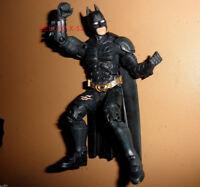 BATMAN the DARK KNIGHT WHITE EYES movie masters FIGURE dc universe toy BALE