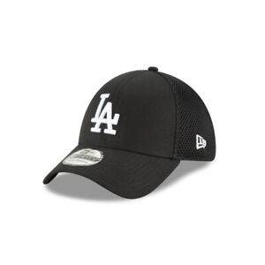 Los Angeles Dodgers New Era Blacked-Out Neo 39THIRTY Flex Hat - Black