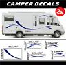 Camper sticker kit camping caravan motorhome decals fendt rapido adria globecar