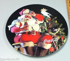 Coca-Cola serving plastic platter Santa tray Coke cola soft drink Coke NJ4
