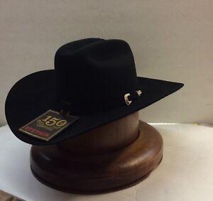 Stetson Cowboy Hat 200X BLACK Cashmere&Beaver Fur La Corona