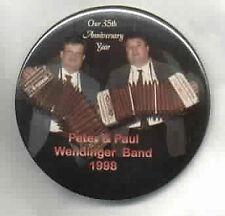 Peter & Paul Wendinger Polka Band BUTTON 1998