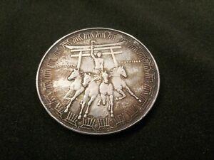 Tokyo 1964 medaglia ufficiale olimpiadi 21 grammi di argento 925 massiccio.
