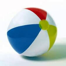 Intex 16 inch Glossy Panel Beach Ball Blow Up Ball Toy Children