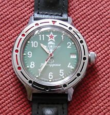 Wrist Mechanical Automatic Watch VOSTOK KOMANDIRSKIE Airborne VDV 921307