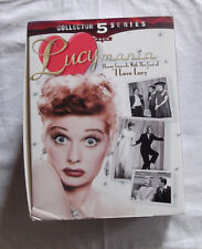 Lucille Ball Lucymania 5 pack Last of I Love Lucy VHS Set Boxed original cast