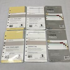 Franklin Covey Planner Refill Lot Color Lined Pages Lined Pages Contactmore