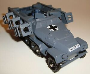 Vintage Corgi Toys Hanomag Sdkfz 251/1 Semi-Track Rocket Launcher