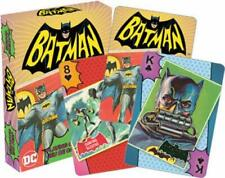 Batman 1966 TV Series 2 Playing Cards DC 66 Adam West Poker Card Deck New Sealed