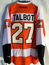 Reebok NHL Jersey Philadelphia Flyers Maxime Talbot Orange sz L