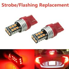 Strobe/Flashing Red 15-LED Replacement Bulb For 2012-up Civic Third Brake Light
