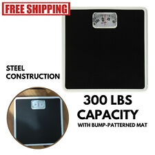 Bathroom Weighing Scale Weight Loss Analog Best Gym Home Manual Dial 300 Lbs NEW