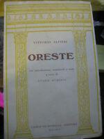 LIBRO: ORESTE DI VITTORIO ALFIERI -G.AUDISIO-C.SIGNORELLI 1966