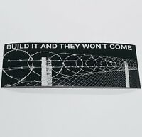 Donald Trump Build The Wall BUMPER STICKER DECAL republican 2020