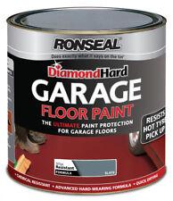 Ronseal Diamond Hard Garage Floor Paint 5L Slate Ultimate Paint Protection