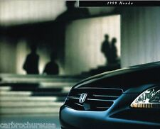 1999 HONDA Brochure/Catalog:CIVIC,ACCORD,PRELUDE,PASSPORT,CR-V,ODYSSEY,V-6,LX,SH