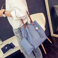 PU Leather Shoulder Bag Tote Purse Crossbody Messenger Satchel Women Handbag NEW