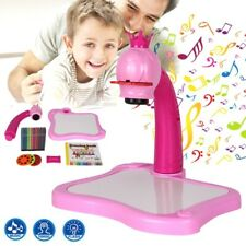 DoodleTime Kiddie Drawing Projector Board Art Table Toy Children Educational
