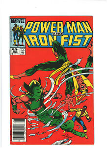 Power Man and Iron Fist #106 FN/VF 7.0 Newsstand Marvel Comics Copper Age 1984