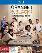 Orange Is The New Black The complete Series Season 1+2+3+4 Blu ray Box Set RB