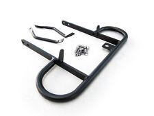 Rear Back Wide Grab Bar Bracket Bumper For 2004-2013 Yamaha Raptor 350 ATV Black