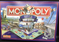 Monopoly BRISTOL ENGLAND Edition Board Family Game Fully Complete Hasbro 2000