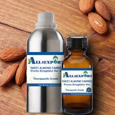 PURE SWEET ALMOND CARRIER OIL Prunus Amygdalus Var Dulcus NATURAL HERBAL