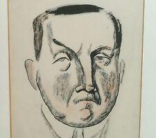 House of Parliament Cartoon Drawing of Arthur Henderson-1922-Boardman Robinson