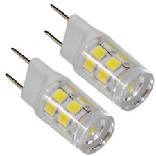 2-Pack G8 Bi-Pin 17 LED Light Bulb SMD 2835 for GE Over the Stove Microwave Oven