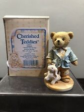 Cherished Teddies Figurine Jeremy Friends Like You Precious and Few Bunny Rabbit