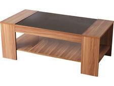 Wood Veneer Rectangle Modern Coffee Tables