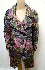 DIGBYS COAT JACKET WOMENS ~ SIZE 1 OR 10 ~ NEW W/ TAGS NWT COLORFUL PRINT DESIGN