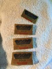Vintage set 3 Razor Blades Unopened Boxes Of  Hildo Gold  10 Blades Per Box