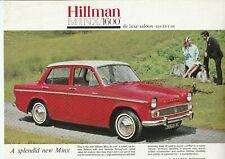 Hillman Minx Series V 1600cc Brochure - 1963