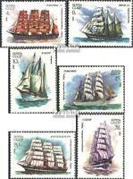 Sowjet-Union 5112-5117 (kompl.Ausg.) postfrisch 1981 Segelschulschiffe